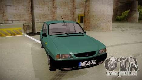 Dacia 1310 Berlina 2001 pour GTA San Andreas laissé vue