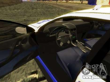 Pontiac GTO Pursit Edition pour GTA San Andreas vue intérieure