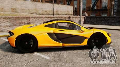 McLaren P1 2013 pour GTA 4 est une gauche