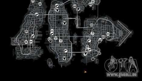 Anneau de Roskilde de destination pour GTA 4 septième écran