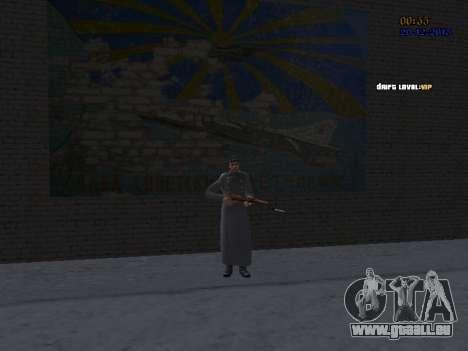 Colonel général de la force aérienne soviétique pour GTA San Andreas septième écran