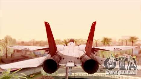 USA Navy Hydra für GTA San Andreas Rückansicht