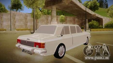Paykan Limousine pour GTA San Andreas vue de droite