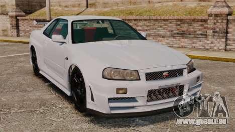 Nissan Skyline R34 GT-R NISMO Z-tune pour GTA 4
