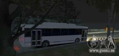 LIAZ 5256.57-01 2013 für GTA 4 Rückansicht
