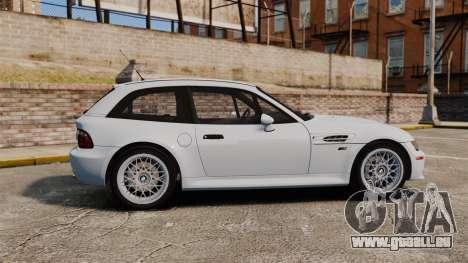 BMW Z3 Coupe 2002 pour GTA 4 est une gauche