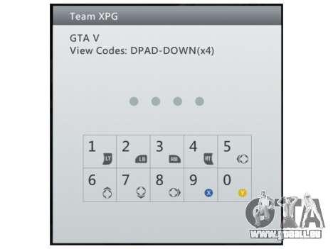 Team XPG GTA V Trainer 9 für GTA 5