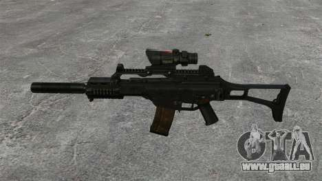 Automatische HK G36C v4 für GTA 4 dritte Screenshot