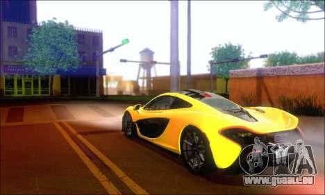 McLaren P1 EPM pour GTA San Andreas vue arrière