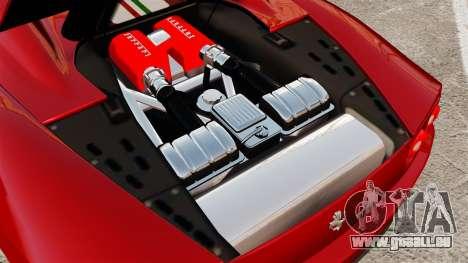 Ferrari 360 Spider 2000 [EPM] pour GTA 4 est une vue de l'intérieur