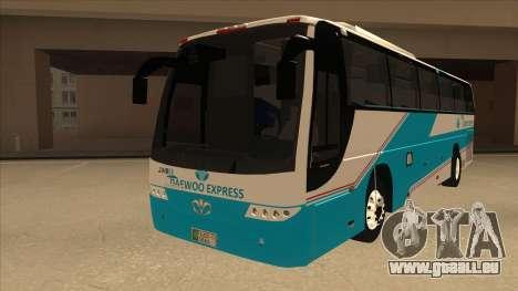 Zaibee Daewoo Express Coach pour GTA San Andreas