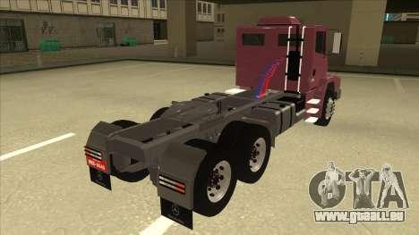 Mrecedes-Benz LS 2638 Canaviero pour GTA San Andreas sur la vue arrière gauche