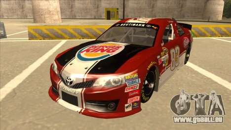 Toyota Camry NASCAR No. 83 Burger King Dr Pepper pour GTA San Andreas