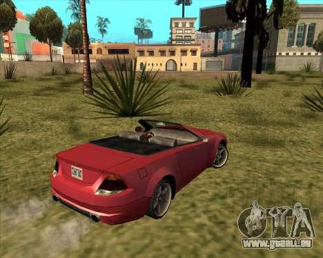 Feltzer Wohltäter von GTA 4 für GTA San Andreas linke Ansicht
