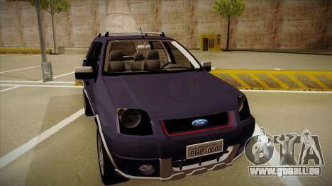 Ford Ecosport FreeStyle 2007 für GTA San Andreas linke Ansicht