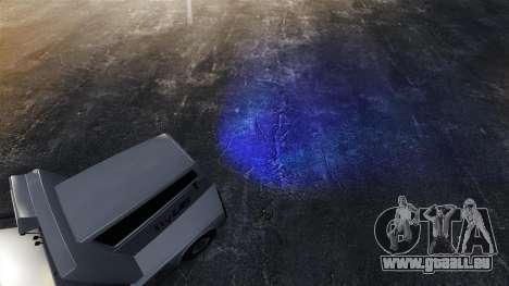 Phares bleus pour GTA 4 troisième écran