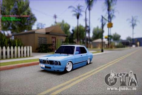 BMW 535I E28 pour GTA San Andreas