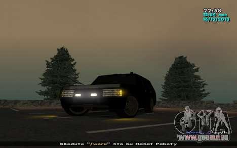 Huntley Mp-Bandit für GTA San Andreas linke Ansicht