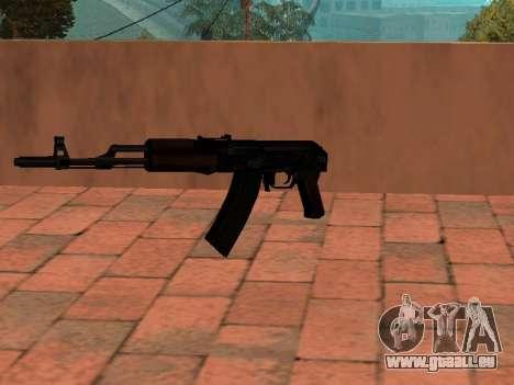 Crosse AK-74 pour GTA San Andreas deuxième écran