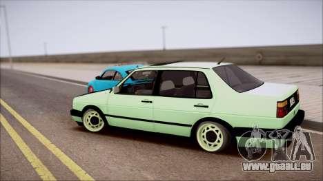 VW Jetta MK2 pour GTA San Andreas laissé vue