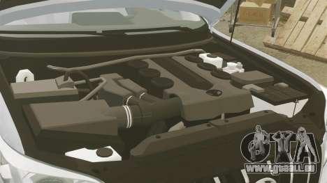 Toyota Land Cruiser Prado 150 pour GTA 4 est une vue de l'intérieur