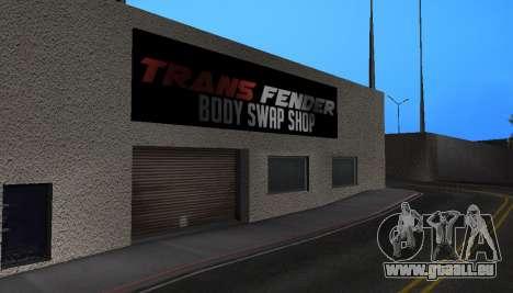 Wang Cars pour GTA San Andreas quatrième écran