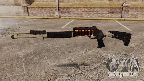 Fusil de chasse M1014 v1 pour GTA 4 troisième écran