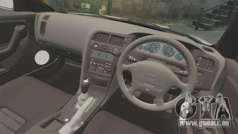 Nissan Skyline R33 NISMO 400R pour GTA 4 est une vue de l'intérieur