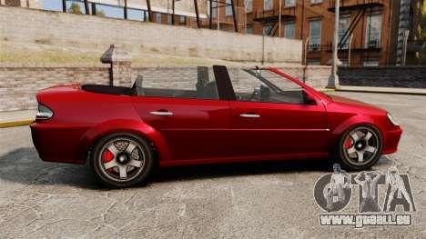 Cabrio-Version des Premierministers tuning für GTA 4 linke Ansicht