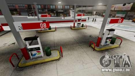 Pertamina Tankstelle für GTA 4 fünften Screenshot