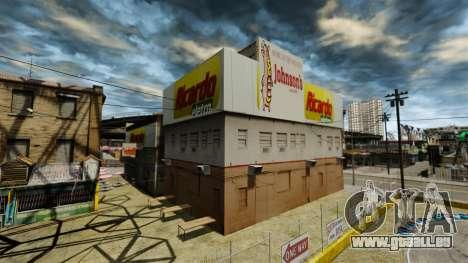 Brasilianischer Läden für GTA 4 dritte Screenshot