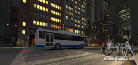 LIAZ 5256.57-01 2013 pour GTA 4 est une vue de l'intérieur