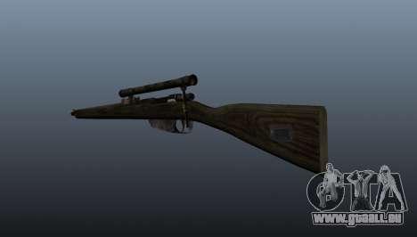 Fusil de sniper Carcano pour GTA 4 secondes d'écran