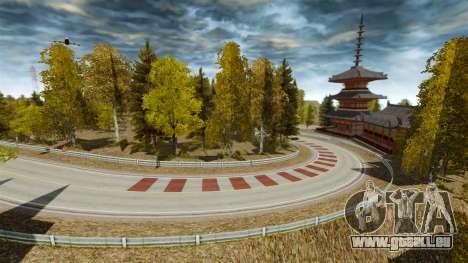 Emplacement d'Okutama FZC pour GTA 4 secondes d'écran