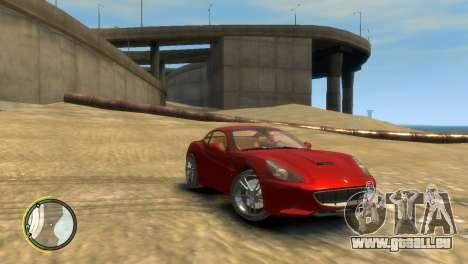 Ferrari California [EPM] pour GTA 4 Vue arrière de la gauche