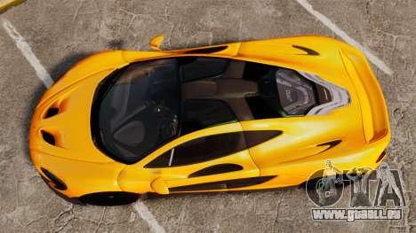 McLaren P1 2013 pour GTA 4 est un droit