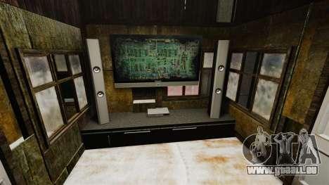RP maison pour GTA 4 quatrième écran