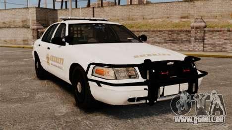 GTA V sheriff car [ELS] für GTA 4