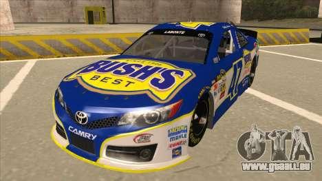 Toyota Camry NASCAR No. 47 Bushs Beans pour GTA San Andreas