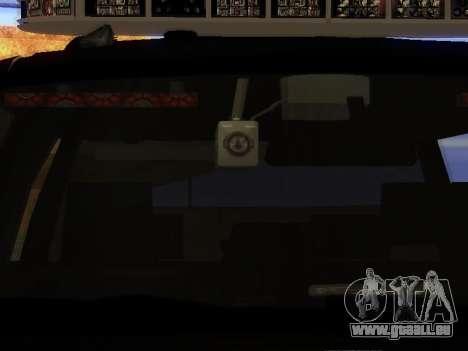Ford Explorer 2010 Police Interceptor pour GTA San Andreas vue arrière