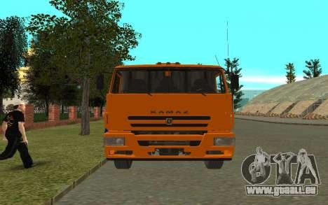 KAMAZ 6520 pour GTA San Andreas vue de droite