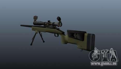 Fusil de sniper M40A3 pour GTA 4 secondes d'écran