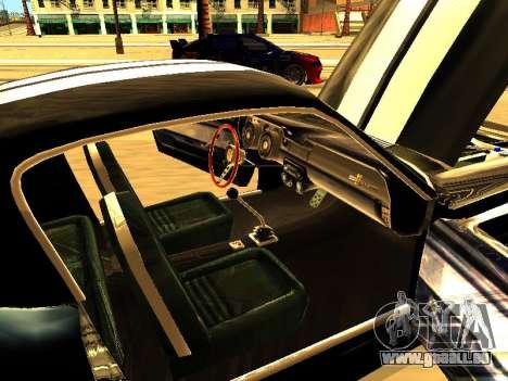 Ford Shelby GT-500E Eleanor pour GTA San Andreas vue de côté