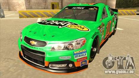 Chevrolet SS NASCAR No. 10 Go Daddy für GTA San Andreas