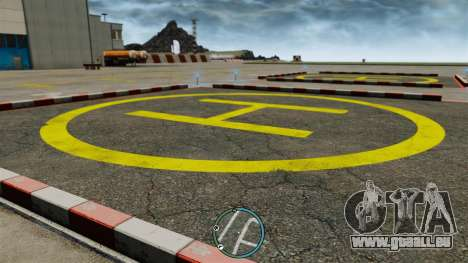 Die zentrale Lage des Radars für GTA 4 Sekunden Bildschirm