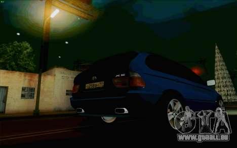 BMW X5 für GTA San Andreas Seitenansicht
