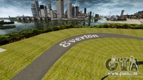 Anneau de Roskilde de destination pour GTA 4 troisième écran