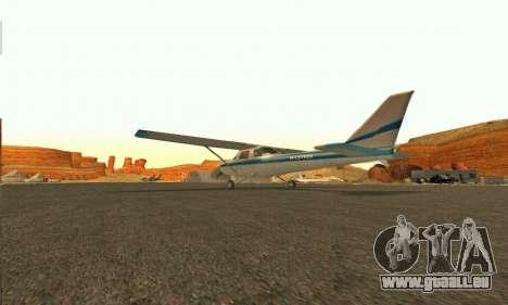 Dodo GTA V pour GTA San Andreas sur la vue arrière gauche