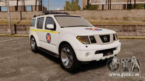 Nissan Pathfinder HGSS [ELS] pour GTA 4