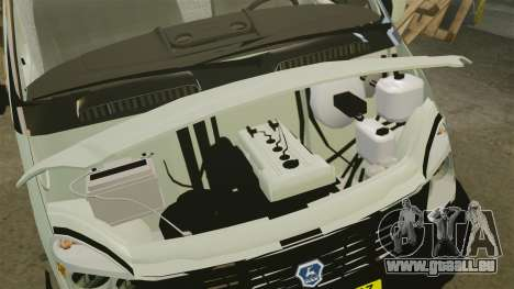 GAZ-2752 Sobol v1. 1 für GTA 4 Innenansicht